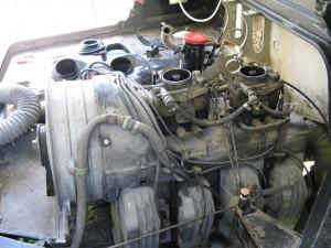 Et encore, j'avais déjà nettoyé la pompe à carburant ainsi que la pipe de niveau