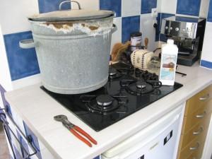 Passage à la casserolle