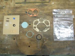 Jeu de joints (set of Gasket) pour carburateur NDIX 36 (Pinzgauer et Porsche)