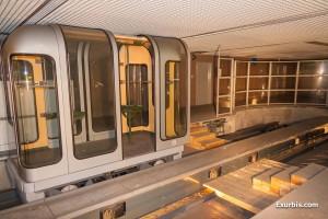 La cabine SK dans la station