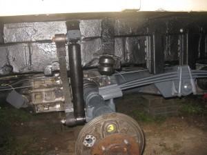 Etat avant remontage du cylindre de roue