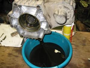 L'huile est aussi noir que de l'huile moteur. Pas très bon !