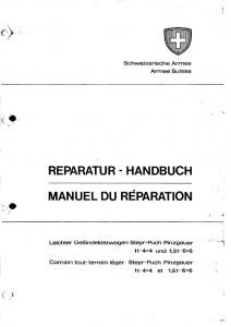 Manuel de réparation du Pinzgauer