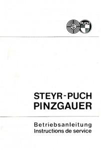 Manuel d'utilisation du Pinzgauer 710/712