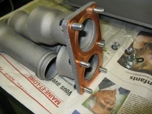 Assemblage des joints en cuivre